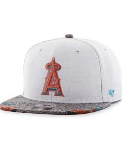 Los Angeles Angels Armadillo Captain Gray 47 Brand Adjustable Hat