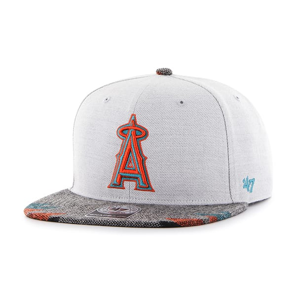 Los Angeles Angels Armadillo Captain Gray 47 Brand Adjustable Hat