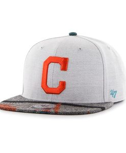 Cleveland Indians Armadillo Captain Gray 47 Brand Adjustable Hat