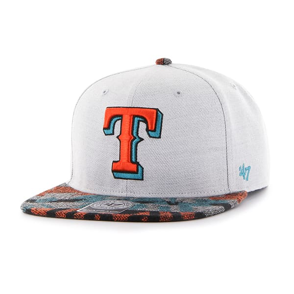 Texas Rangers Armadillo Captain Gray 47 Brand Adjustable Hat