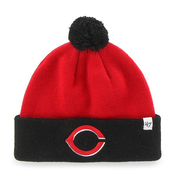 Cincinnati Reds Bam Bam Cuff Knit Red 47 Brand TODDLER Hat