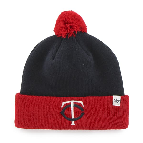 Minnesota Twins Bam Bam Cuff Knit Navy 47 Brand TODDLER Hat