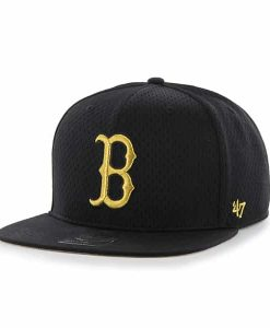 Boston Red Sox Beat Box Captain Black 47 Brand Adjustable Hat