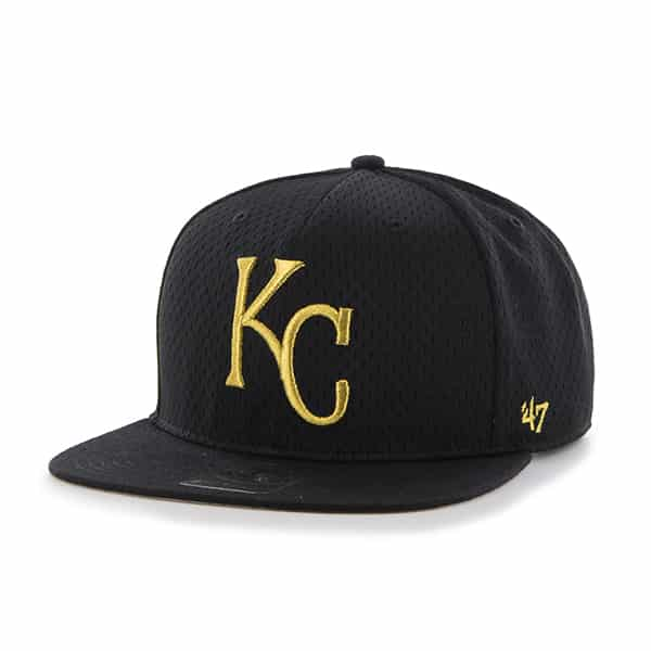 Kansas City Royals Beat Box Captain Black 47 Brand Adjustable Hat