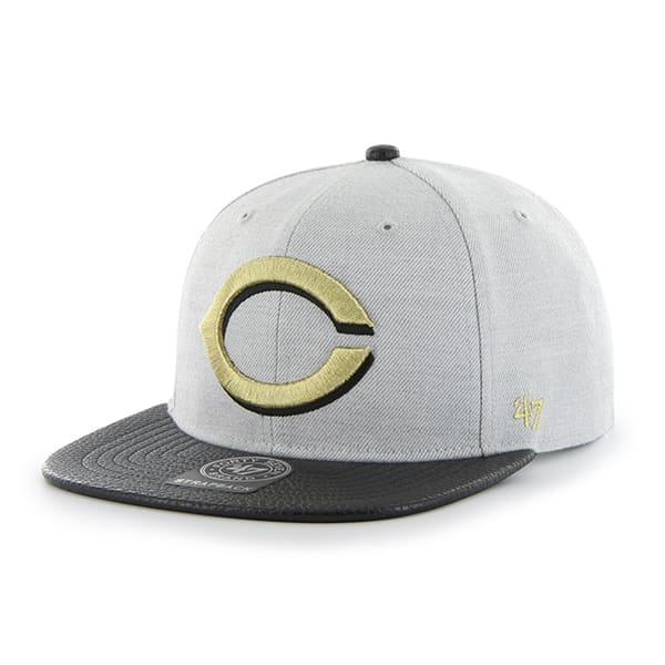 Cincinnati Reds Berendo Captain Gray 47 Brand Adjustable Hat