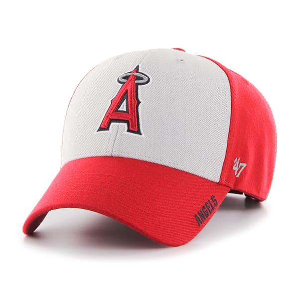 Los Angeles Angels Beta MVP Red 47 Brand Adjustable Hat