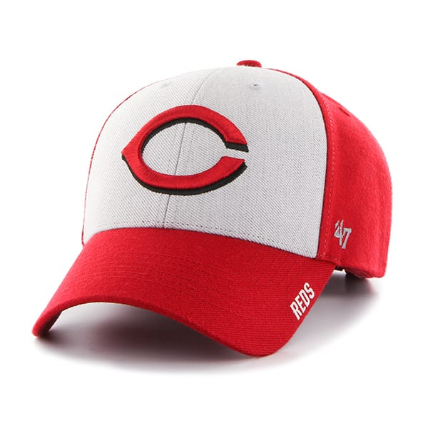 Cincinnati Reds Beta MVP Red 47 Brand Adjustable Hat