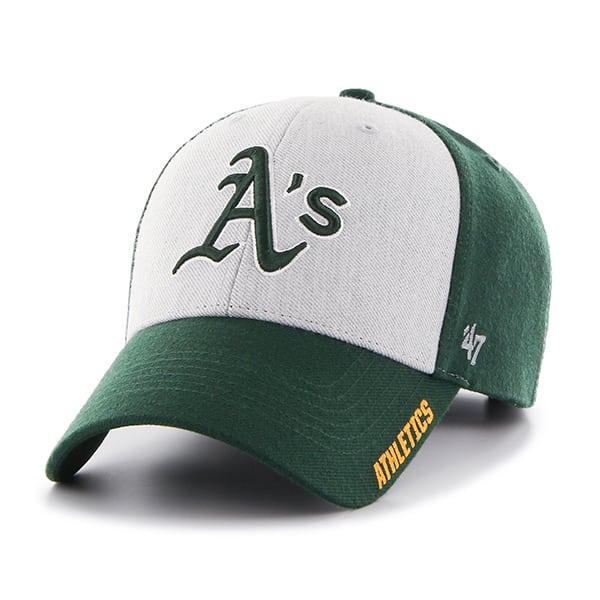 b3ae2bccae7cb Oakland Athletics Beta MVP Dark Green 47 Brand Adjustable Hat - Detroit  Game Gear