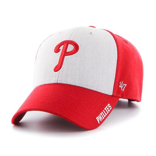 Philadelphia Phillies Beta MVP Red 47 Brand Adjustable Hat