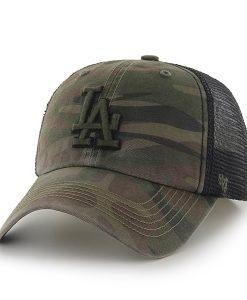 Los Angeles Dodgers Beaufort Closer Sandalwood 47 Brand Stretch Fit Hat