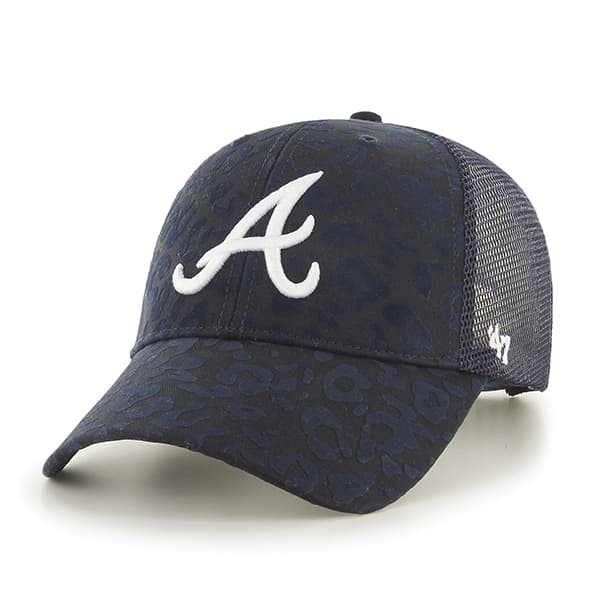 Atlanta Braves Billie MVP Navy 47 Brand Womens Hat