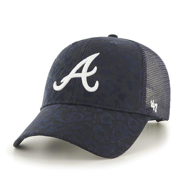 atlanta braves billie mvp navy 47 brand womens hat