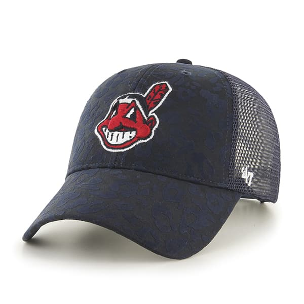 Cleveland Indians Billie MVP Navy 47 Brand Womens Hat