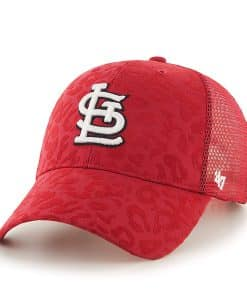 St. Louis Cardinals Billie MVP Red 47 Brand Womens Hat 15345c6c9a80