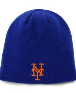New York Mets INFANT 47 Brand Blue Baby Beanie Hat