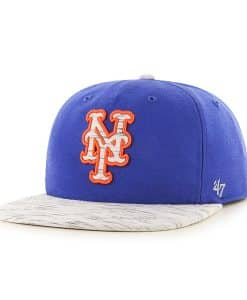 New York Mets Bluster Captain Rf Royal 47 Brand Adjustable Hat