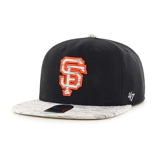 San Francisco Giants Bluster Captain Rf Black 47 Brand Adjustable Hat
