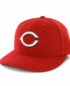 Cincinnati Reds Bullpen MVP Home 47 Brand Adjustable Hat