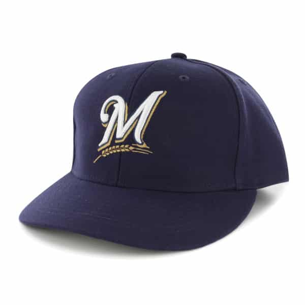 Milwaukee Brewers Bullpen MVP Home 47 Brand Adjustable Hat