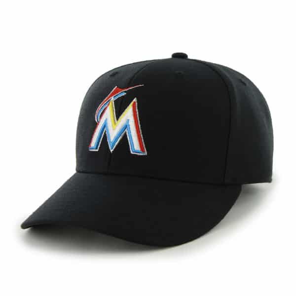 Miami Marlins Bullpen MVP Home 47 Brand Adjustable Hat