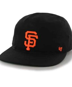 San Francisco Giants Bergen 5 Panel Black 47 Brand Adjustable Hat