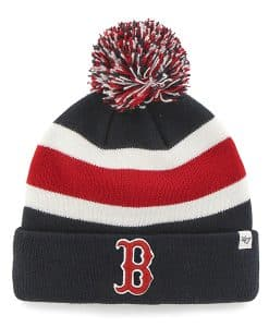 Boston Red Sox 47 Brand Navy Breakaway Cuff Knit Hat