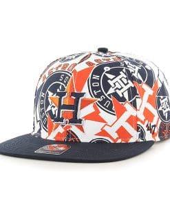 Houston Astros Bravado Captain White 47 Brand Adjustable Hat
