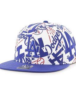 Los Angeles Dodgers Bravado Captain White 47 Brand Adjustable Hat