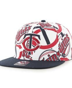 Minnesota Twins Bravado Captain White 47 Brand Adjustable Hat