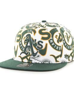 Oakland Athletics Bravado Captain White 47 Brand Adjustable Hat