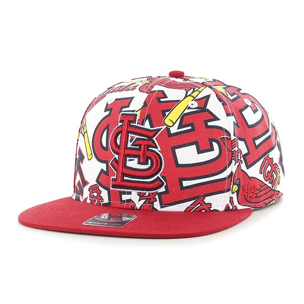 St. Louis Cardinals Bravado Captain White 47 Brand Adjustable Hat