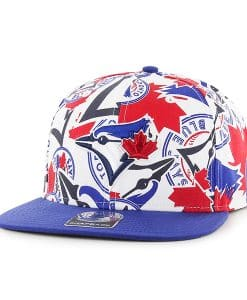 Toronto Blue Jays Bravado Captain White 47 Brand Adjustable Hat