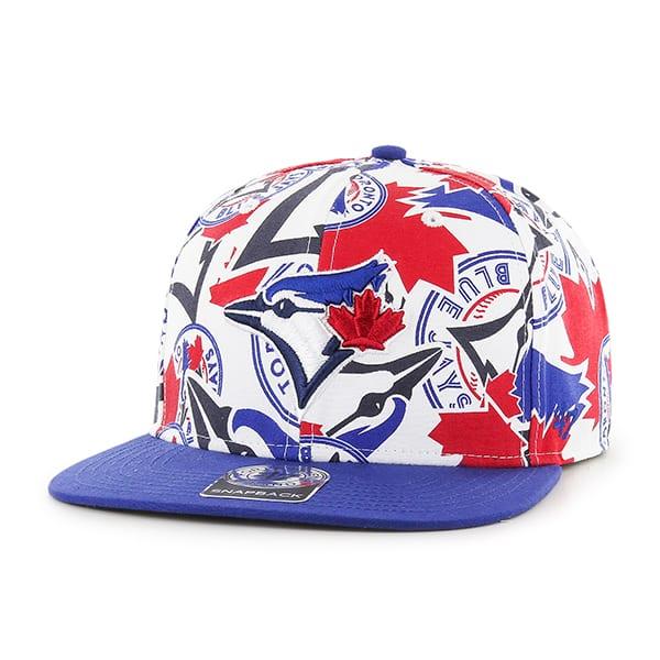 Toronto Blue Jays Bravado Captain White 47 Brand Adjustable Hat