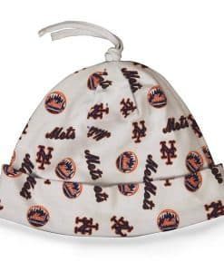 New York Mets Baby Beanie White 47 Brand INFANT Hat