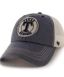 Texas Rangers Cuddyhook Navy 47 Brand Stretch Fit Hat