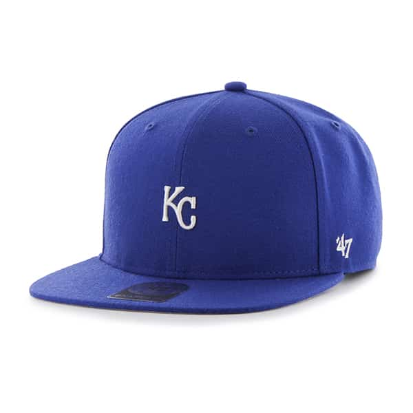 Kansas City Royals Centerfield Captain Royal 47 Brand Adjustable Hat