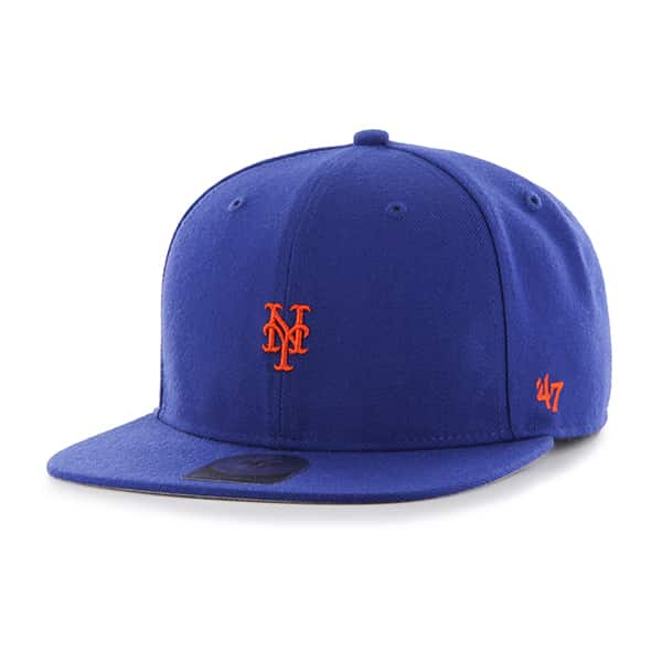New York Mets Centerfield Captain Royal 47 Brand Adjustable Hat