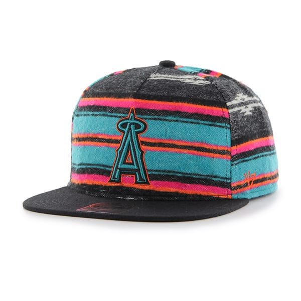 Los Angeles Angels Chapparal Captain Dt Black 47 Brand Adjustable Hat