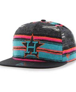 Houston Astros Chapparal Captain Dt Black 47 Brand Adjustable Hat