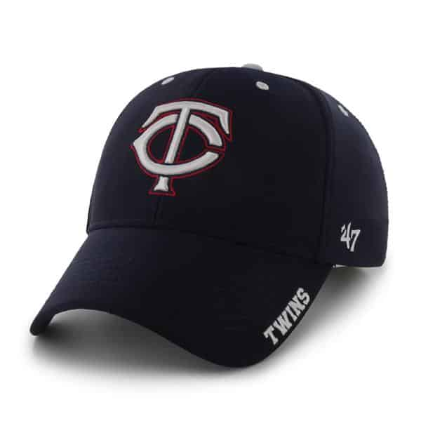 Minnesota Twins Condenser MVP Navy 47 Brand Adjustable Hat