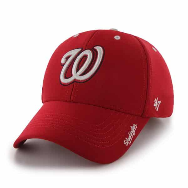 Washington Nationals Condenser MVP Red 47 Brand Adjustable Hat