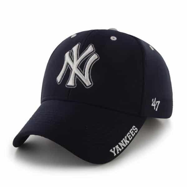 New York Yankees Condenser MVP Navy 47 Brand Adjustable Hat