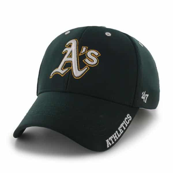 Oakland Athletics Condenser MVP Dark Green 47 Brand Adjustable Hat
