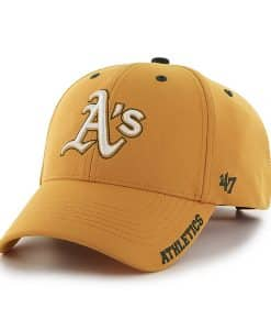 Oakland Athletics Condenser MVP Gold 47 Brand Adjustable Hat