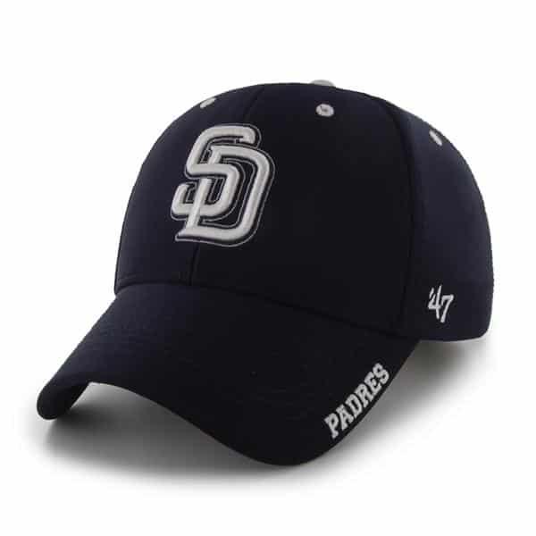 San Diego Padres Condenser MVP Navy 47 Brand Adjustable Hat