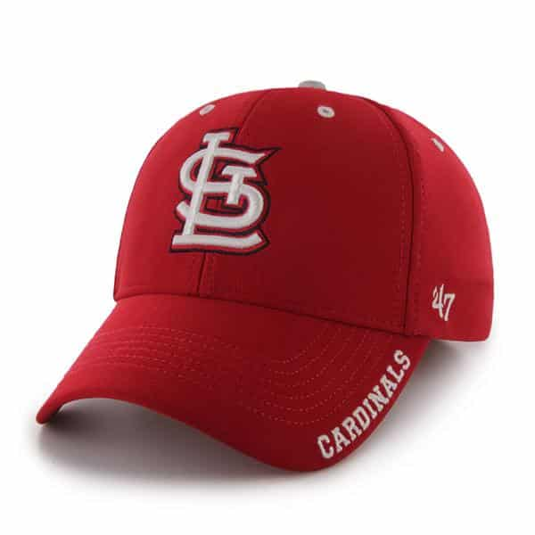 St. Louis Cardinals Condenser MVP Red 47 Brand Adjustable Hat