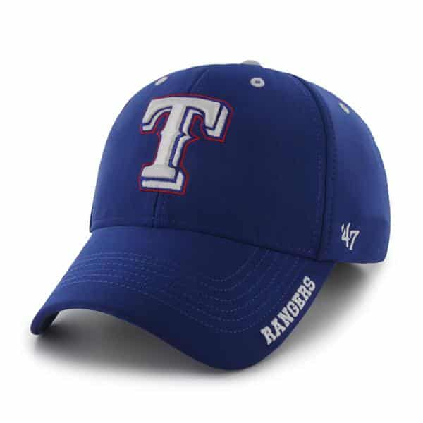 Texas Rangers Condenser MVP Royal 47 Brand Adjustable Hat
