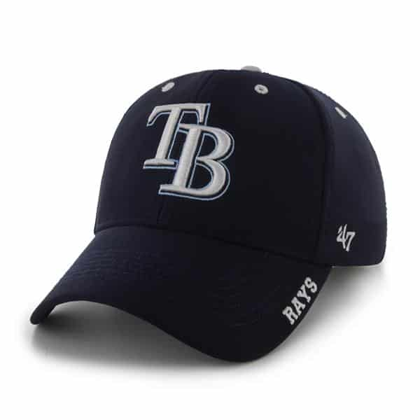 Tampa Bay Rays Condenser MVP Navy 47 Brand Adjustable Hat