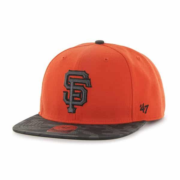 San Francisco Giants Countershot Captain Orange 47 Brand Adjustable Hat