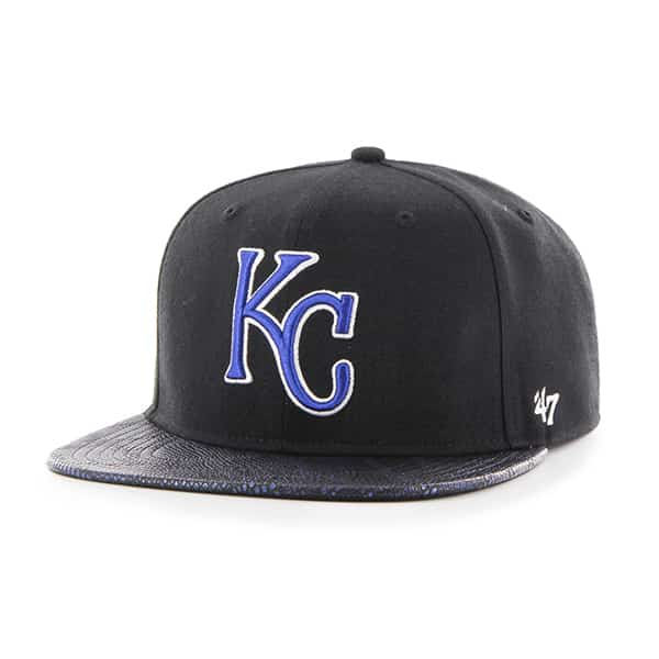 Kansas City Royals Constrictor Captain Black 47 Brand Adjustable Hat